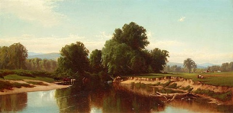 esophus creek by alfred thompson bricher