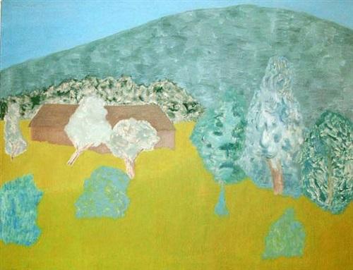 bearsville landscape by march avery