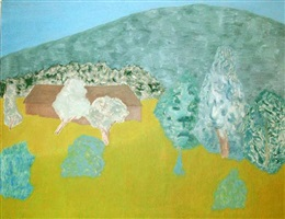 bearsville landscape by march avery