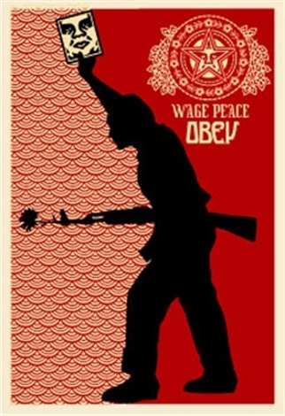 obey 04 retro series by shepard fairey
