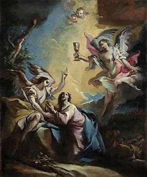 christus am ölberg / the agony in the garden by carlo innocenzo carlone