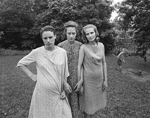 edith, ruth and mae, danville, virginia by emmet gowin