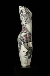 fiori di pesco apuano (small torso ii) by emily young