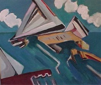 docks and boats by howard rackliffe