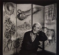 marc chagall by yousuf karsh