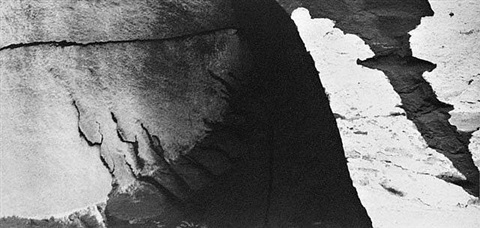 capitol reef, utah, 1962 sequence 15 c #3 by minor white