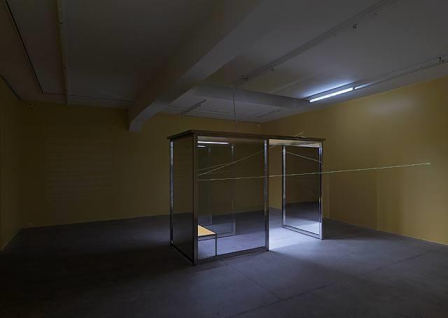 exhibition view galerie eva presenhuber 2008 by angela bulloch