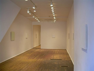 'luminous room' installation view 1