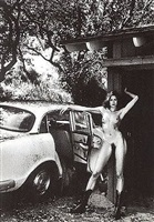 domestic nude 8, los angeles by helmut newton