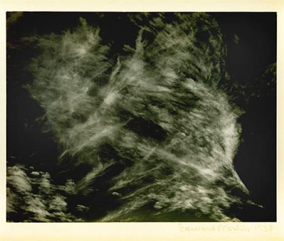 clouds, death valley by edward weston