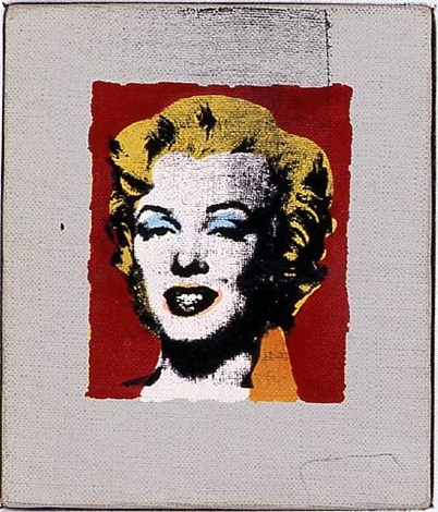 andy warhol, marilyn, 1978 by richard pettibone