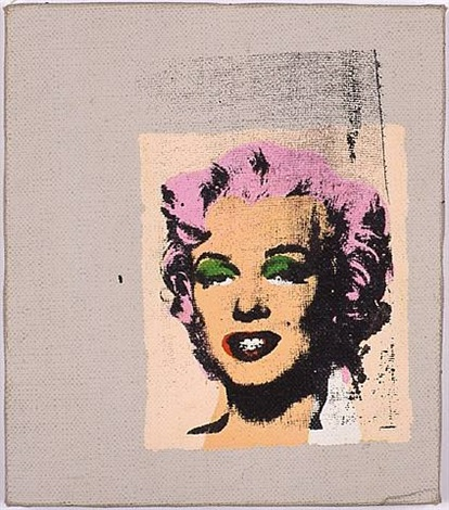 andy warhol, marilyns, 1962 by richard pettibone
