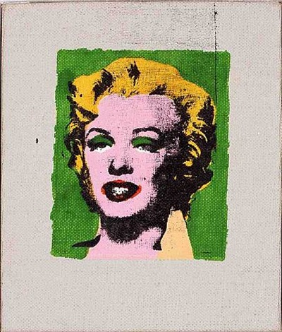 green marilyn by richard pettibone