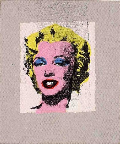 andy warhol, marilyn monroe by richard pettibone