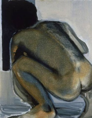 the peeping tom by marlene dumas