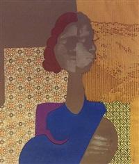 untitled (blue female) by david hammons