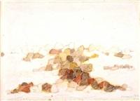 (79/043-c) landscape (paesaggio roccioso) by zoran antonio music