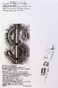 impact of a dollar (a poem by stephen crane) by colin self