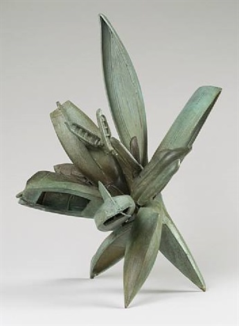 bronze sculpture number one by nancy rubins