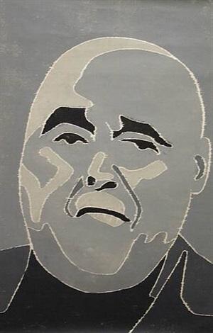 portrait 4 by fang lijun