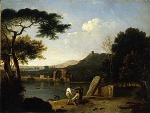 lake avernus by richard wilson