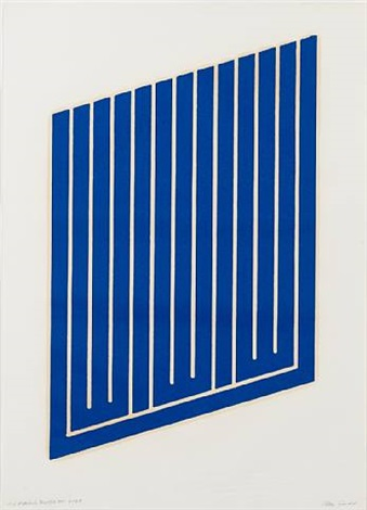untitled (11-l) by donald judd