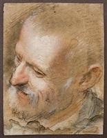 kopf des hl. joseph / head of st. joseph by federico barocci