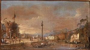 capriccio venetien by giacomo guardi
