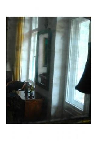 o.t. (gelber vorhang) by stefan hunstein