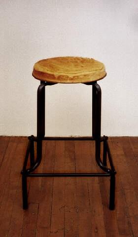 cake stool by jana sterbak