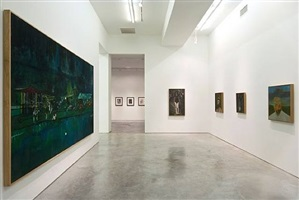 exhibition view by peter doig