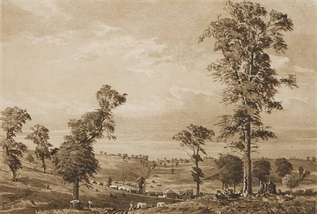 entrance to kanesville by frederick piercy
