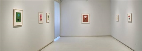 exhibition view by adolph gottlieb