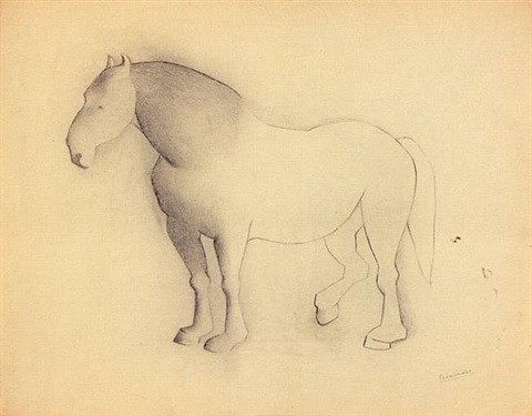 caballo by luis fernández