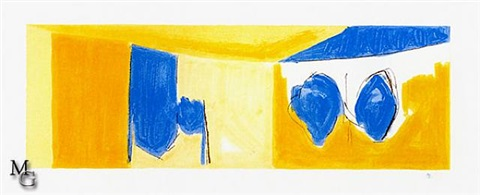 mediterranean light by robert motherwell