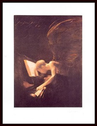 angel and piano by charlie mackesy