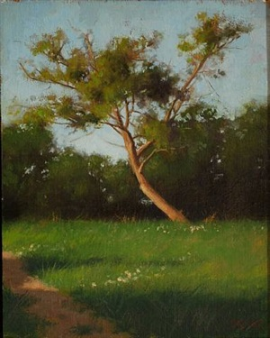 apple tree, normandy by jacob collins