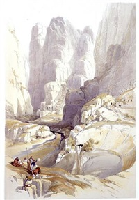 the theatre, petra by david roberts