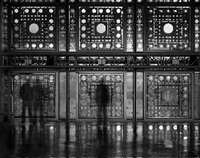 la salle du haut conseil, institut du monde arabe<br> jean nouvel, architect, paris by matthew pillsbury
