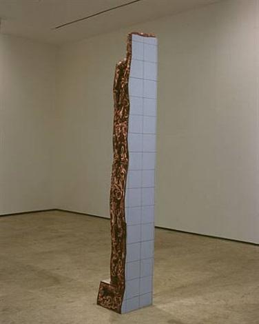 ruina de charque - coluna (column jerked-beef ruin) by adriana varejão