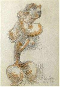 Nude, 1935–1943