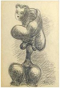 Nude, 1935