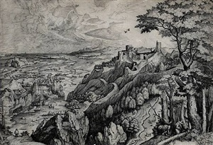 saint jerome in the desert by pieter brueghel the elder