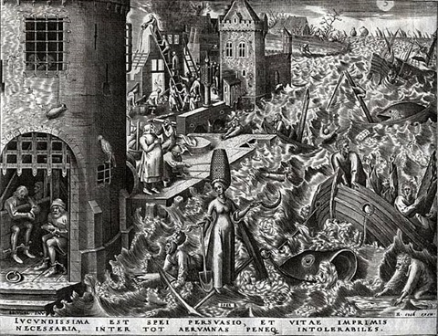 hope from the world of seven virtues by pieter brueghel the elder