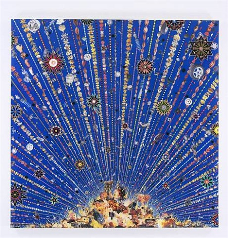 car bomb by fred tomaselli