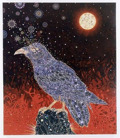 big raven by fred tomaselli