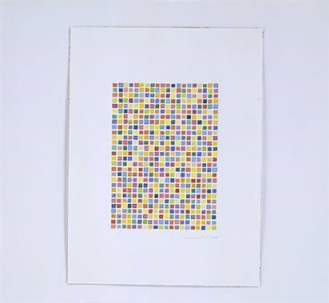 untitled (blotter acid #1) by fred tomaselli