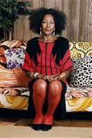 sandra: she's a beauty by mickalene thomas