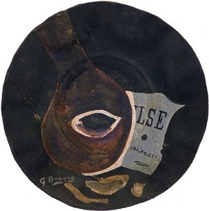 valse (waltz) by georges braque
