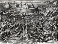 fortitude from the world of seven virtues by pieter brueghel the elder